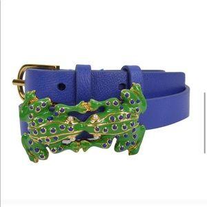 Tory Burch frog double wrap bracelet